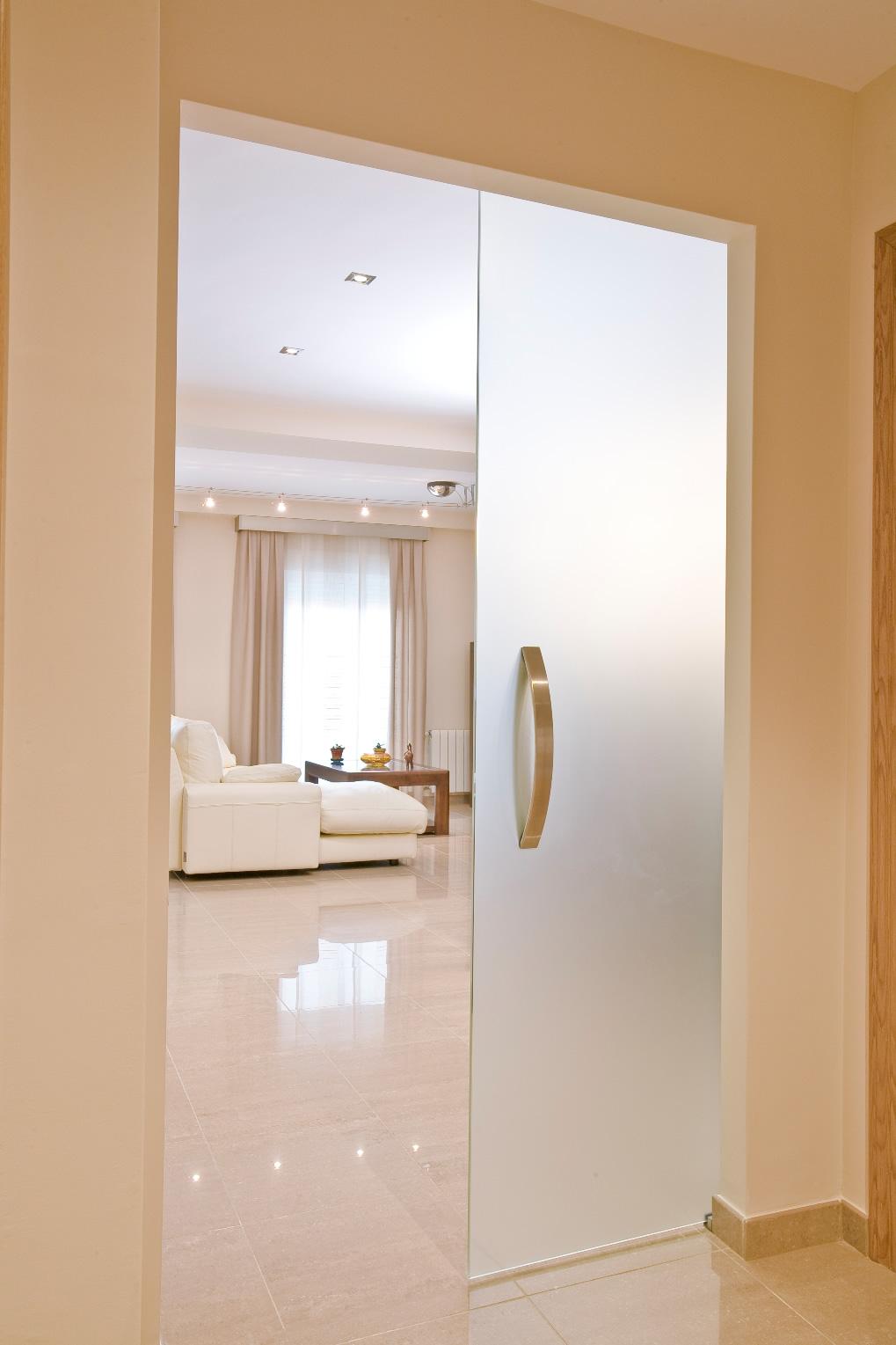Cerviglas puertas y separadores - Puerta corredera empotrada ...